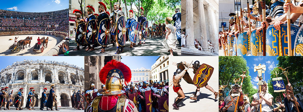 The great roman games - Nîmes